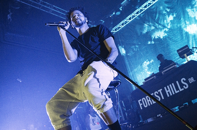 J. Cole live at the O2 Arena
