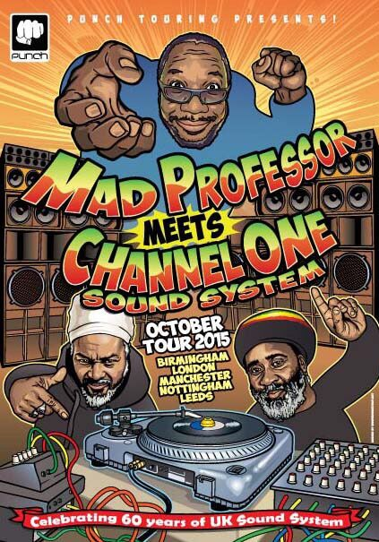Channel One and Mad Professor celebrate 60 years of sound system culture