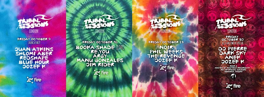 Tribal Sessions weekly Fire!