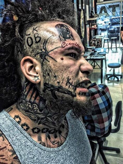 Stitches by name, Stitches by nature. The craziest motherfucker in rap music?