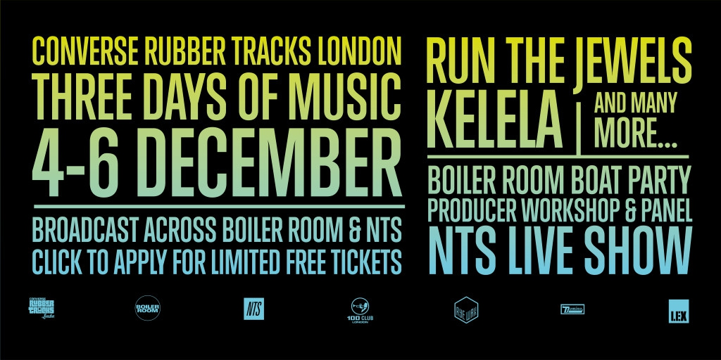 Converse Rubber Tracks To Be Headlined By Run The Jewels