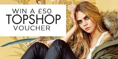 Win a £50 TopShop voucher!