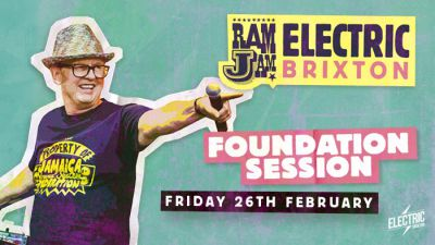 Win tickets to Davis Rodigan presents: Ram Jam at Electric Brixton