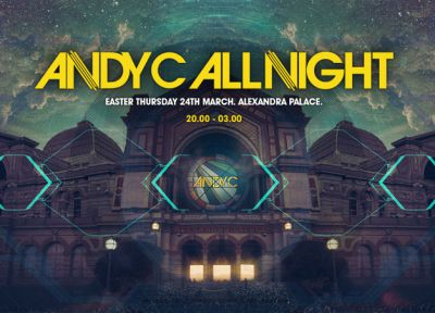 Win 2 tickets to Andy C All Night at Alexandra Palace 24th March!