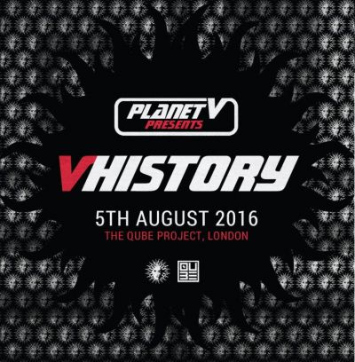 Win 2 tickets to V History!