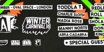 Win 2 tickets to Toddla T's Winter Carnival