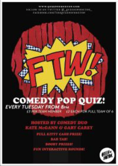 F.T.W Comedy Pop Quiz