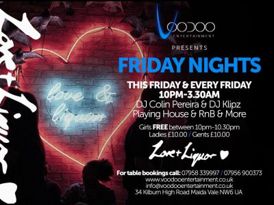 Love & Liquor Fridays