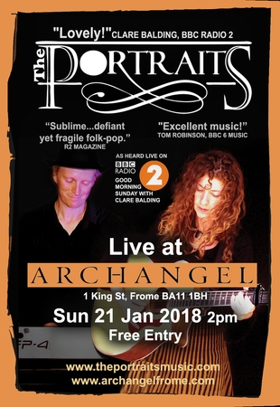 The Portraits live at Archangel Frome
