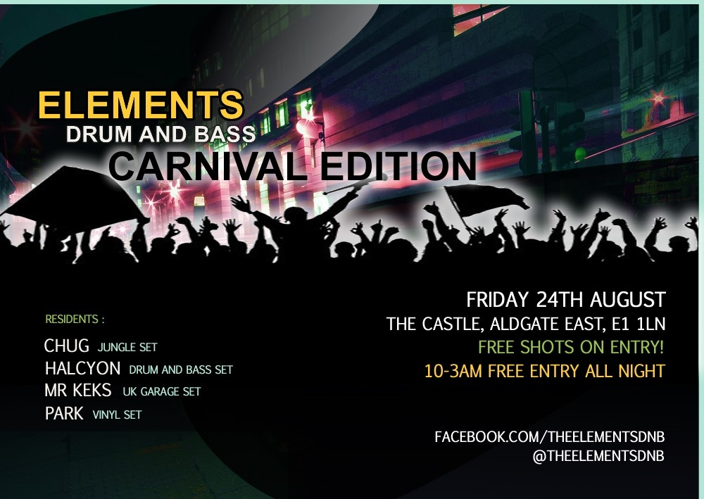 Elements DNB - Carnival Edition