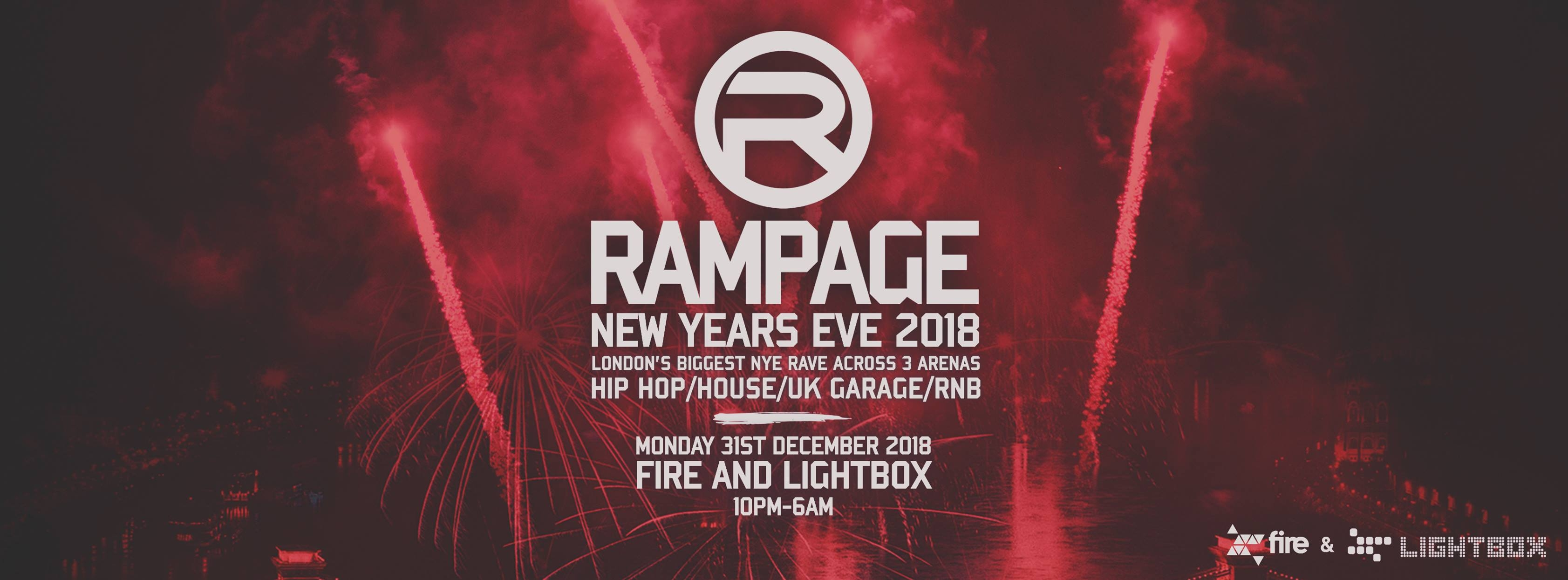 Rampage - New Years Eve 2018