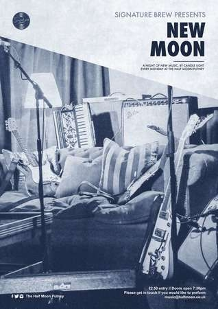 New Moon - A Night of New Music, The Half Moon Putney, London, Mon 17 Jun