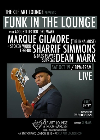 Funk in the Lounge - Sharrif Simmons x Marque Gilmore x Dean Mark
