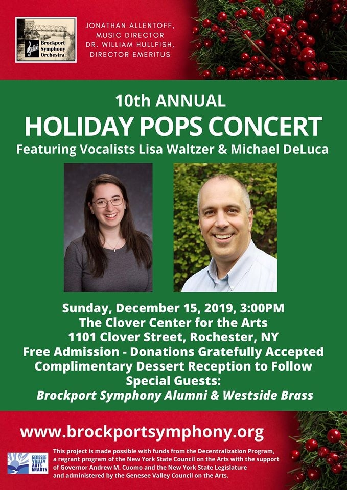 Brockport Symphony Orchestra: 10th Annual Holiday Pops Concert