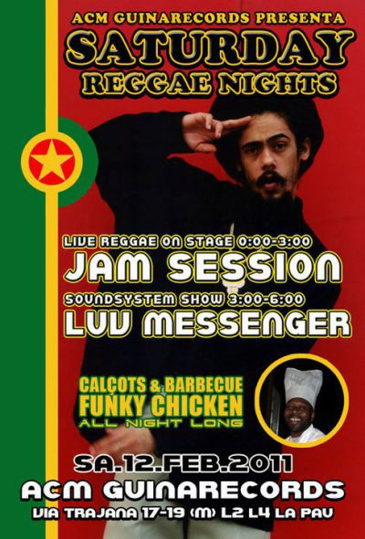 Live Reggae Jamm Session